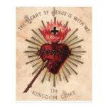 Heart of Jesus (small) Customized Letterhead