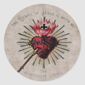 Heart Of Jesus Sticker