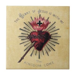 Heart Of Jesus Tile