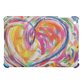 Heart of Joy Art iPad Fitted Hard Case iPad Mini Case