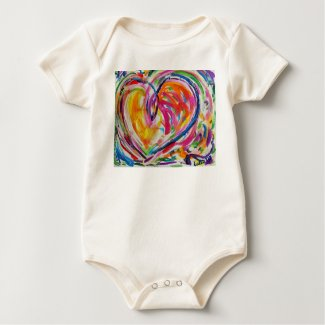 Heart of Joy Artwork Love Painting T-Shirts
