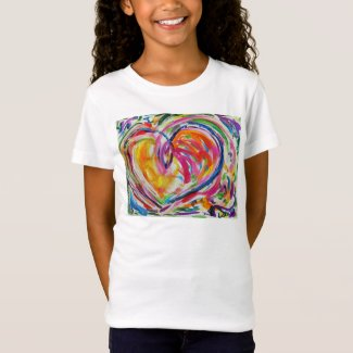 Heart of Joy Artwork Painting Love T-Shirt