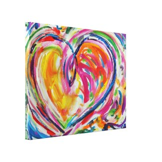 Heart of Joy Canvas Painting Art Painting