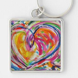 Heart of Joy Key Chain