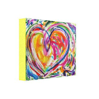 Heart of Joy Painting Canvas Art Print