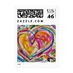 Heart of Joy Postage Stamp
