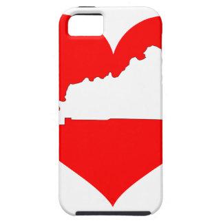 Heart of Kentucky iPhone SE/5/5s Case