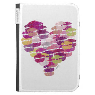 Heart of Kisses Kindle 3G Cover