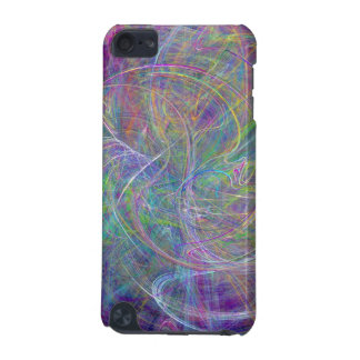 Heart of Light – Aqua Flames & Indigo Swirls iPod Touch 5G Case