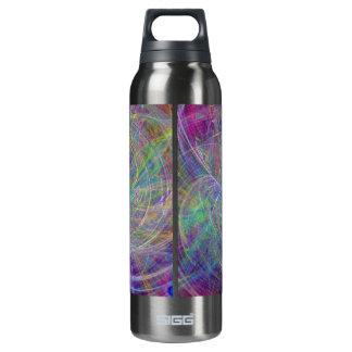 Heart of Light – Aqua Flames & Indigo Swirls SIGG Thermo 0.5L Insulated Bottle