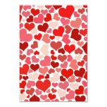 Heart of Love 3.5x5 Paper Invitation Card