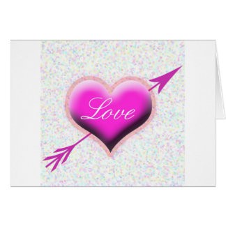 Heart of Love Greeting Cards