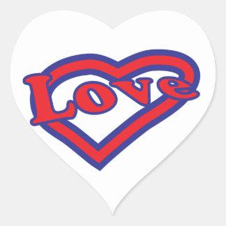 Heart of Love Heart Sticker