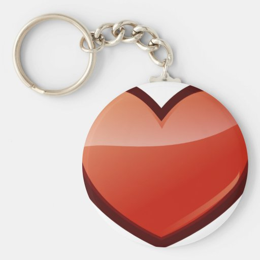 Heart of Love Key Chains