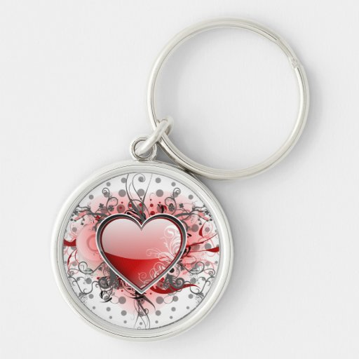 Heart of love - keychains