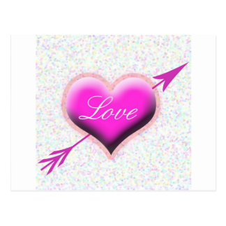 Heart of Love Post Card