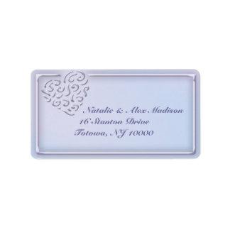 Heart of Love Return Address Label
