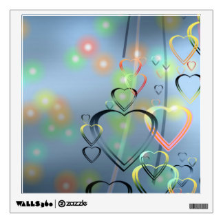 Heart of Love Wall Decals