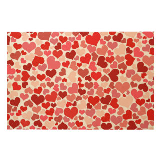 Heart of Love Wood Canvases