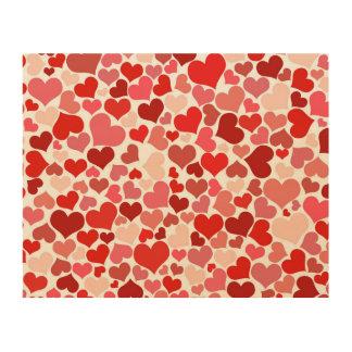 Heart of Love Wood Print