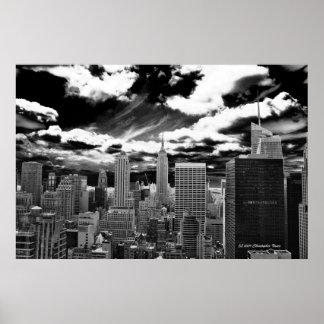 Heart of Manhattan - 30 Rockefeller Plaza Poster