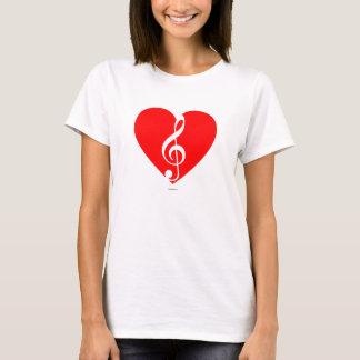 Heart of music T-Shirt