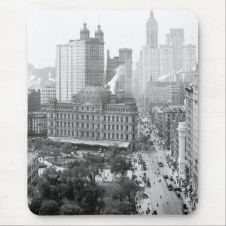 Heart of New York City: 1908 Mouse Pad