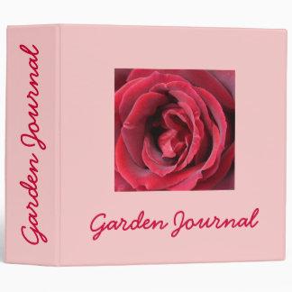 "Heart of Passion Garden Journal - Avery 2"" Binder"