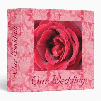 "Heart of Passion Wedding Album - Avery 1.5"" Binder"