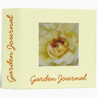 """Heart of Peace Garden Journal - Avery 2"""" Binder"""