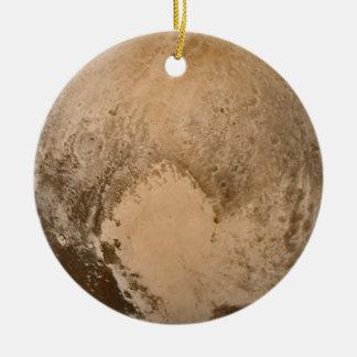 Heart of Pluto Ceramic Ornament