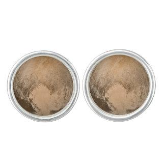 Heart of Pluto Cufflinks