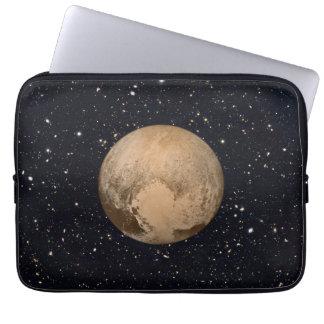 Heart of Pluto Starry Sky Laptop Sleeve
