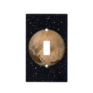 Heart of Pluto Starry Sky Light Switch Cover