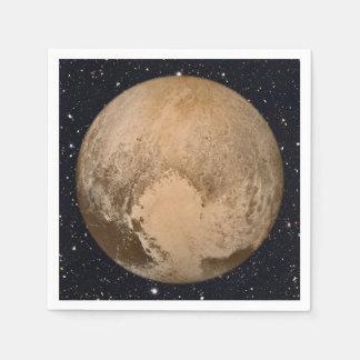 Heart of Pluto Starry Sky Napkin