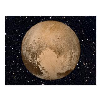Heart of Pluto Starry Sky Postcard