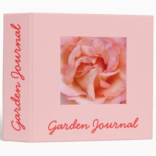 """Heart of Romance Garden Journal - Avery 2"""" Binder"""