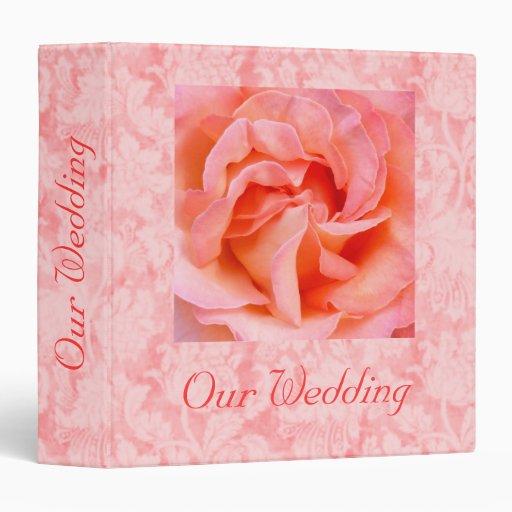 "Heart of Romance Wedding Album - Avery 2"" Binder"