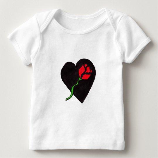 Heart of Rose Baby T-Shirt