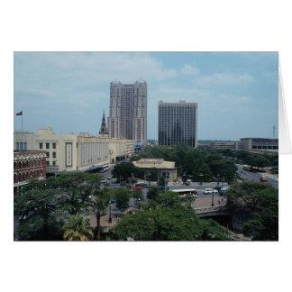 Heart of San Antonio, Texas, U.S.A. Card