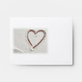Heart of Sand/Beach Envelope