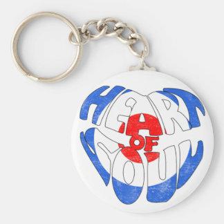 Heart Of Soul Target Keychain