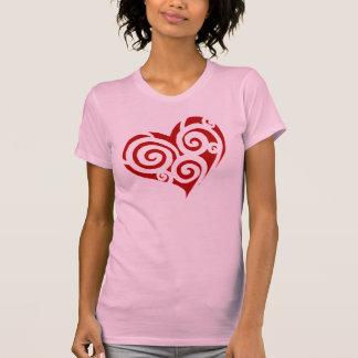 """Heart of Spirals, """"Crazy Love"""" Shirts"""