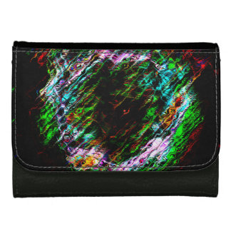 Heart of Spirits Leather Wallet For Women