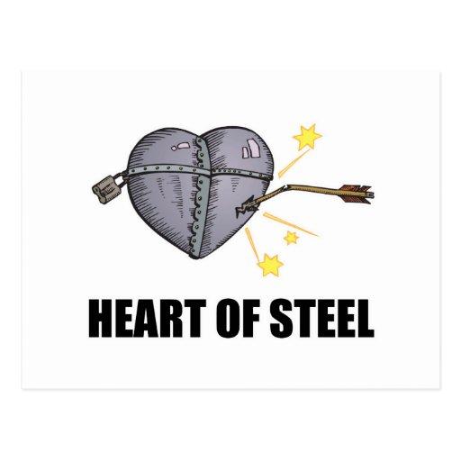 heart of steel postcard