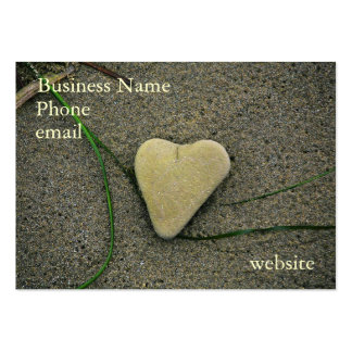Heart of Stone business card-Customize it! Large Business Card