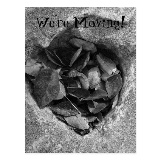 Heart of Stone; Change of Address Postcard
