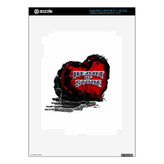 Heart of Stone Decals For iPad 3
