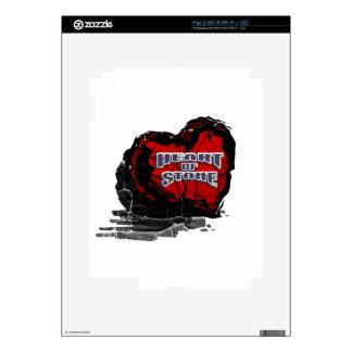Heart of Stone iPad 2 Decals