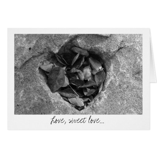 Heart of Stone; Sweet Nothings Card